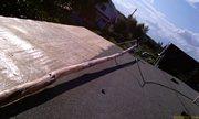 Антенна на крыше, перед подъёмом - увеличить