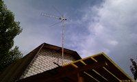 Антенна на даче - увеличить