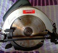 Электропила Dorkel DRC-185 - средоточие маразма и ошибок, горит всё время! Полное несоответствие щёток, ротора, статора, барахло натуральное, не покупать никогда!