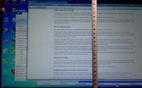 Экран ноутбука с мелким текстом - увеличить