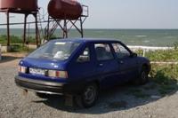 Ода на берегу Азовского моря, юга 2008 - увеличить