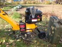 Осенняя перекопка земли мотокультиватором Partner PFT 3540B
