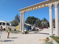 Пляж Посейдон, грязи, Азовское море, дорога, цены. Ч.6