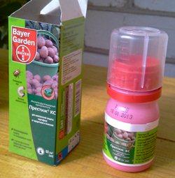 Лучшее средство от колорадских жуков от Bayer Garden - Престиж КС - увеличить