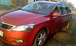 История продажи Kia Ceed SW 2010 FL 1.6 МТ, 2014 год
