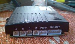 Парктроник от фирмы ParkMaster, модель 4BJ-06 black, разъёмы - увеличить