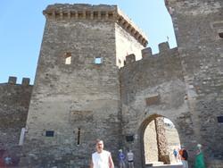 Генуэзская крепость - вошли! - увеличить