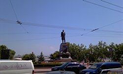 Севастополь, площадь и памятник Нахимову - увеличить