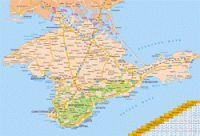 Крым 2014, Алушта и Феодосия, на машине