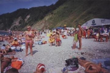Пляж в Туапсе - увеличить