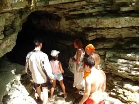 Вход в Тигровую пещеру