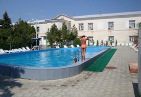 Внутренний бассейн санатория СК БФО