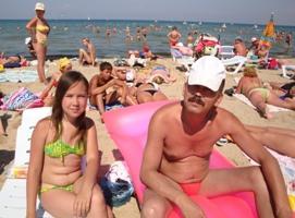 Песчаный пляж Анапы. Да здравствует цивилизация!