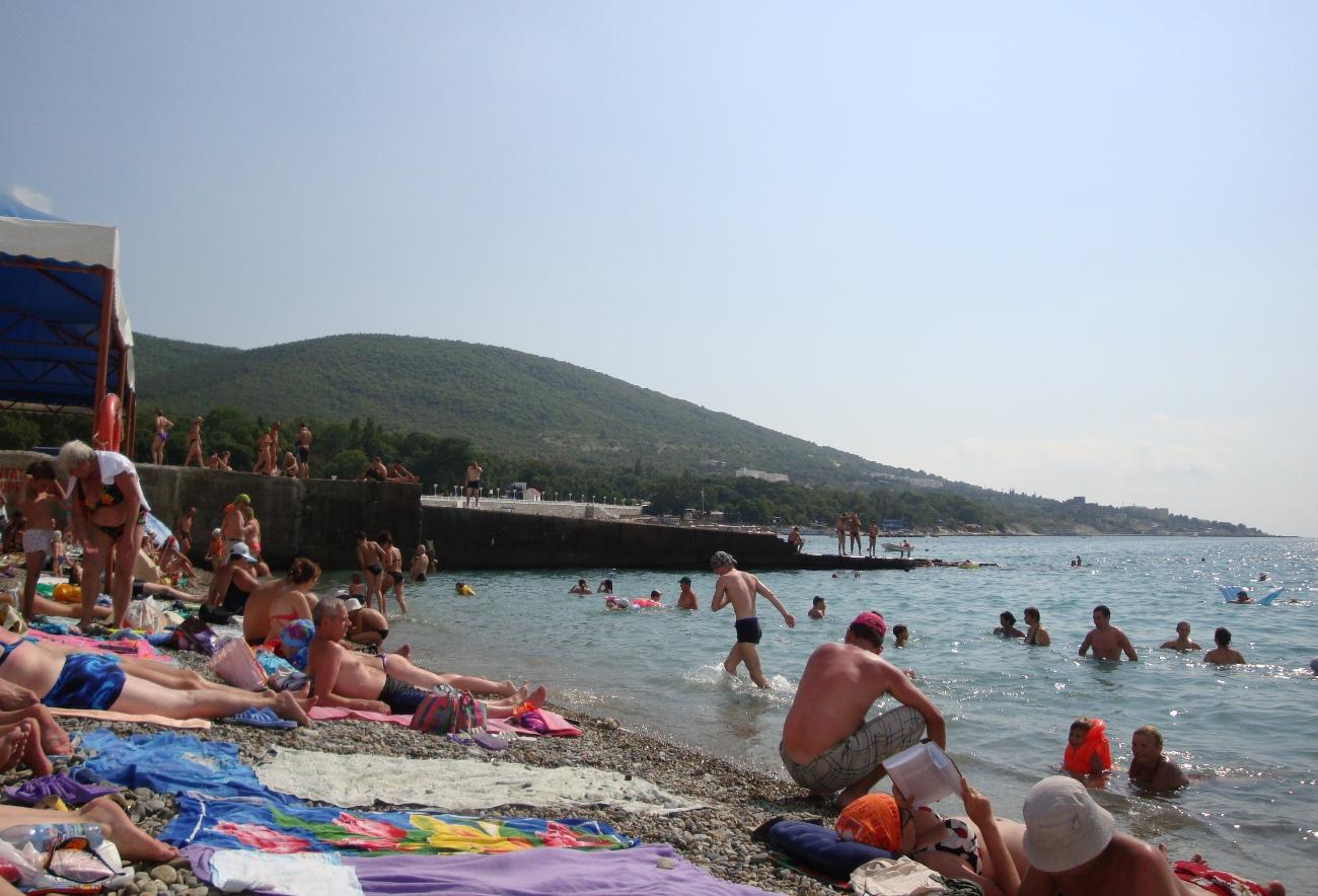 Геленджик пляжи фото детский