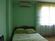 Удобная и широкая двухспальная кровать, кондиционер - увеличить