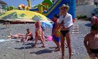 Пляж в центре Лоо - увеличить