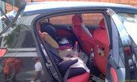 Поездка с детьми, в машине - прям как в космическом корабле! - увеличить