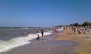 Пляж Азовского моря - увеличить