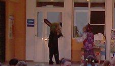Кукольный спектакль на территории Импульса, красивый и интересный - увеличить