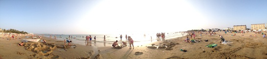 Пейзажный снимок пляжа Феи-2. Производство iPhone-4s. При нажатии откроется 6 мб снимок 10800х2412