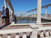 Вот они, грязевые ванные Посейдона, три купальни идут друг за другом - увеличить