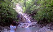 Первый водопад - увеличить