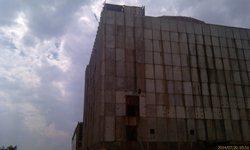 Атомная станция - основной корпус. Высота - 54 метра - увеличить