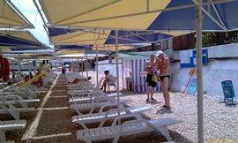 Лучший пляж в районе ул. Революционной - у Водного мира - увеличить
