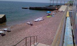 Морской уголок - пляж №3 - такой же, как и №2 - не были там ни разу, народу много меньше, чем на первых двух - увеличить