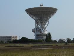 Центр дальней космической связи у Евпатории - увеличить