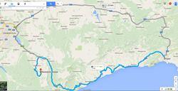 Пещера Мраморная на карте от гугла - увеличить