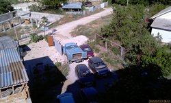 Орхидея - стоянка - 5-6 машин и водовозка - через день приезжала. Далее направо - к дальнему рынку, налево - на Звёздный переулок и на пляж - увеличить