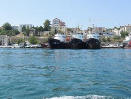 Корабли чёрные - увеличить