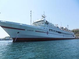 Енисей - корабль госпиталь - увеличить