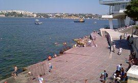 Пляжи Севастополя - в принципе, можно и искупаться - увеличить