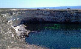 Сплошные достопримечательности - пещера для кормёжки обучаемых дельфинов - увеличить