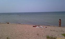 Просто море у Заозёрного - увеличить